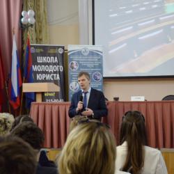 Совместное мероприятие Московского областного колледжа  информационных технологий и школы модого юриста